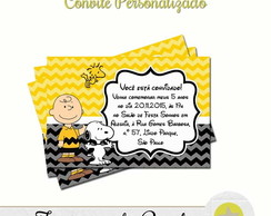 CONVITE CHARLIE BROWN