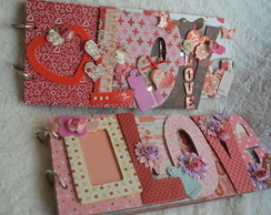 Álbum chipboard 'LOVE'
