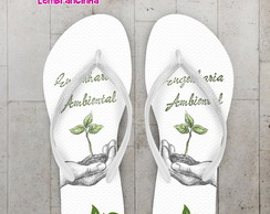 Chinelo Formatura Engenharia Ambiental
