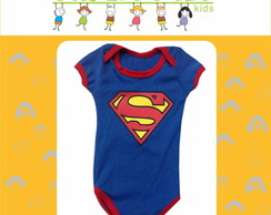Body Super Homem (Superman) - P, M ou G