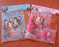 Kit de Colorir Ever after high