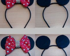 Kit Tiara Minnie e Mickey