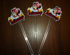 Topper Minnie Personalizado