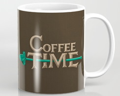 Caneca Hora do café! (Coffee Time)