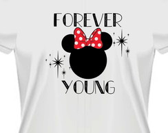 Camiseta Baby Look Minnie mickey