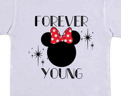 camiseta infantil Minnie mickey