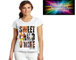 Camiseta Sweet Child'O Mine Guns N Roses