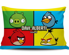 Travesseiro Infantil -AngryBirds