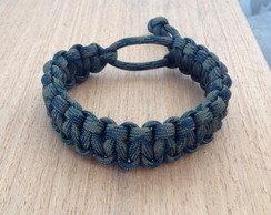 Pulseira Paracord Mad Max WOODLAND