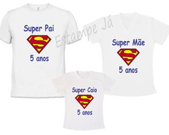 Camisetas do Super Homem Camiseta do Superman
