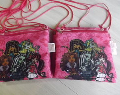 Bolsinha Monster High Tira colo