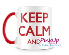 Caneca Keep Calm and Carry On