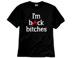 Camiseta PLL I'm back bitches