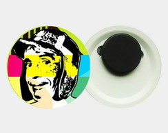 Imã 4,5cm - Chaves Pop Art