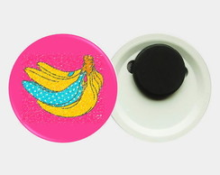 Imã 4,5cm - Banana - Pop Art