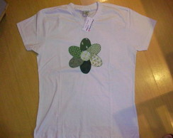Camiseta Adulto Flor