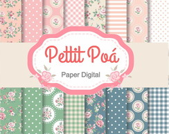 Papel digital Romantic Shabby Chic
