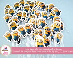 Topper p/ Doces Minions
