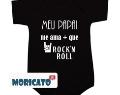 Body Meu papai me ama mais que rock
