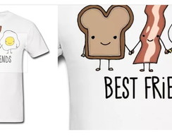 camisetas Best Friend