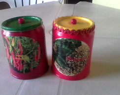 Latas Decorativas kit c/10 latas