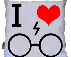 Almofada I Love Harry Potter