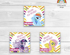 Tag Quadrada My Little Pony