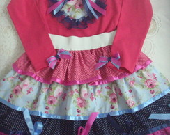 ROUPA JUNINA ( conjunto) Adulto e Infant