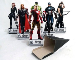 Display Cone Heróis Marvel