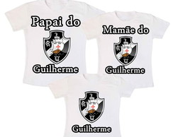Kit 3 Camiseta Aniversario Vasco