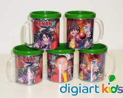 Caneca personalizada do Bakugan