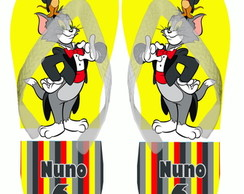 Chinelo Personalizado Tom & Jerry