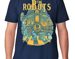 CAMISETA CURTA MASCULINA - THE ROBOT