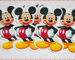 Aplique para Topper Mickey e Minnie