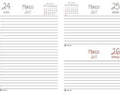 Miolo Para Agenda Diaria 2017 A5 Pdf No Elo7 Sketbuke Bau