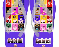 Chinelo Power Rangers Infantil