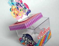 Caixa acrilica My little Pony