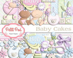 Kit Digital Scrapbook - Baby