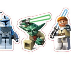 APLIQUE/TOPPER 5CM LEGO STAR WARS