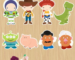 100 Apliques Toy Story