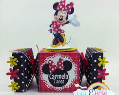 Caixa bala Minnie Scrap