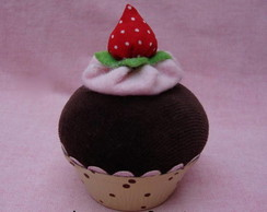 Cupcake Chocolate &  Moranguinho Ref 009