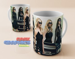 Caneca Pretty Little Liars PLL Serie Spencer Aria Porcelana
