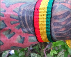 Pulseira do Reggae Grossa (M)(F)