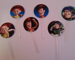 100 Mini Topper p/ Docinhos Toy Story