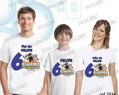 Camiseta Aniversario Clube do Pinguim