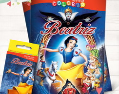 Kit Revista + Giz Branca de Neve
