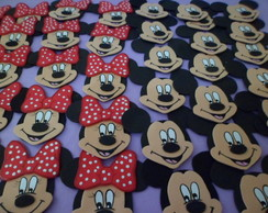 Aplique Mickey/ Minnie
