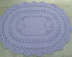 Tapete Oval Lilas