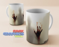 Caneca louça THE WALKING DEAD 5